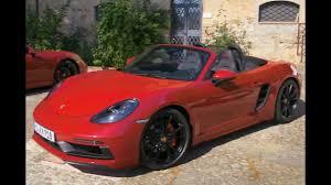 Porsche Boxster 4 Seater - porsche 2018 cayman vs boxster action youtube