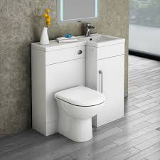 Modern Basins Bathrooms by Valencia 900mm Combination Bathroom Suite Unit Round Toilet