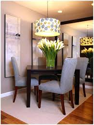 latest small apartment dining room decorating ideas with small