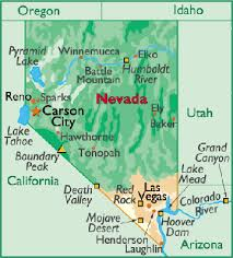 printable map of nevada map of carson city printable map of nevada state printable