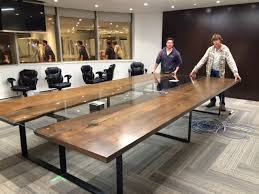 Black Glass Boardroom Table Collection In Live Edge Boardroom Table Live Edge Conference Table