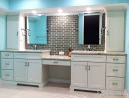 bathrooms with white cabinets white cabinets mission cabinets cliqstudios transitional