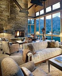 Rustic Modern Living Room Furniture by 135 Best Rustic Great Rooms Images On Pinterest Home Rustic