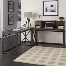 L Corner Desk Home Styles Xcel L Corner Desk With Hutch Reviews Wayfair