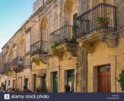 Victoria Houses by Houses With Typical Balconies Victoria Aka Ir Rabat Island Gozo