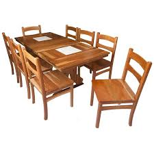 wooden table and chair set for custom solid wood tables chairs and cabinets in israel bass