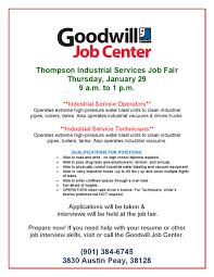 Sample Resume For Job Fair by January 2015 Job U0026 Career News From The Memphis Public