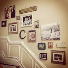 Staircase Wall Ideas Staircase Wall Decorating Ideas Traditional Staircase Other