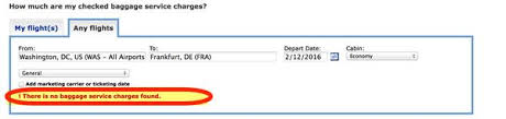 united airlines baggage fees domestic the easy way to find out how much checked bags will cost on united