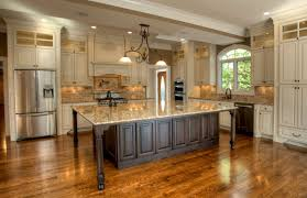large kitchen island with seating white oak wood cordovan glass panel door large kitchen islands