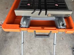 Ridgid Table Saw Extension Ridgid R4040s Tile Saw Review U2013 Cut It Out And Plunge In Home