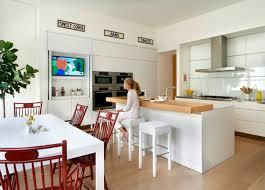 kitchen tv ideas ambassador residence contemporary kitchen chicago by