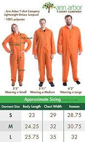 Orange Prison Jumpsuit Halloween Costume Prisoner Jumpsuit Orange Prison Inmate Halloween Costume Unisex