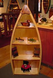 Canoe Shaped Bookshelf Building Custom Bookcases Boat Shelf Bookcase Plans Boat Shaped