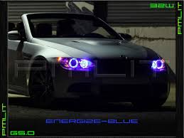 bmw headlights 07 11 bmw x3 g5 0 angel eyes 32w led headlights halo bulbs