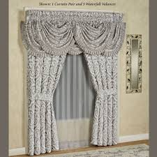 98 Drapes Curtain Curtain Tiers Thermal Drapes Touch Of Class Curtains