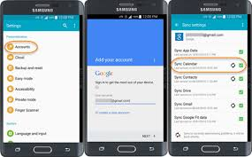 from android how to transfer calendar from android to android
