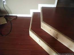 Installing Laminate Flooring On Stairs Installing Laminate Stair Nose How To Install Laminate Flooring On