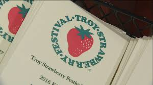 troy u0027s 2016 strawberry festival logo revealed wdtn