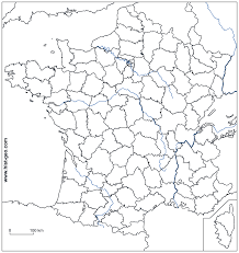 Map Of Northern France by Blank Outline Maps Of France