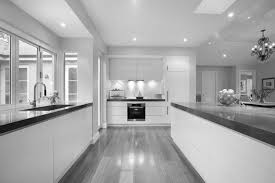 marble floor kitchen decorations dark kitchens with wood and black