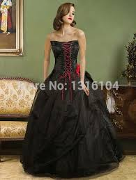 aliexpress com buy 1960s black red bridal gowns with color ball