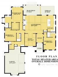 656064 3 bedroom 3 bath italian style plan with open floor plan