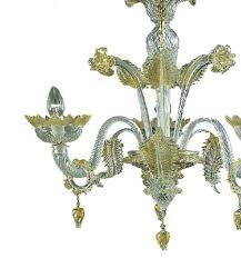 veneziano 3 lights glass chandelier jpg