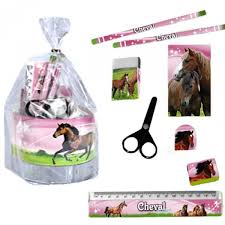 set de bureau fille set de bureau cheval au galop papeterie cheval fille