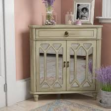 accent cabinets with doors corner accent cabinets you ll love wayfair