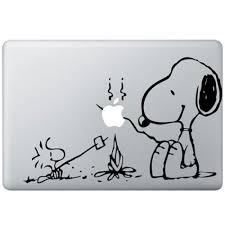 snoopy macbook decal kongdecals macbook decals