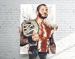 Randy Orton Halloween Costume Randy Orton Etsy