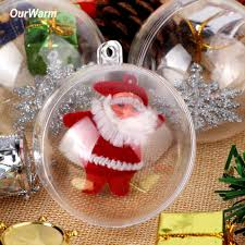 online buy wholesale clear christmas decoration ball from china