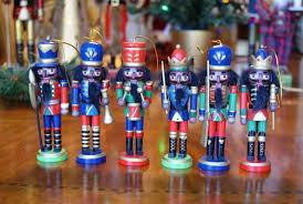 nutcracker ornaments in color