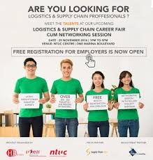 Now Open For Supply Chain Logistics Supply Chain Career Fair Networking Session
