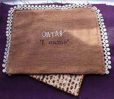 afikomen bag matzah cover and afikomen cloth sewing projects