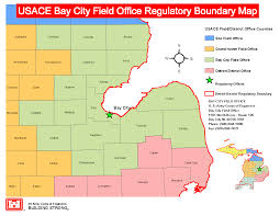 Map Of Bay City Michigan by Detroit District U003e Missions U003e Regulatory Program And Permits