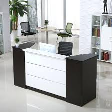 Reception Desk Furniture Office Counter Desk Customized Wooden Vintage Reception Desk