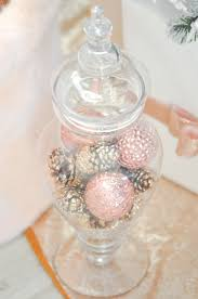 Pink And Pearl Christmas Decorations by Blush Pink And White Flocked Vintage Inspired Christmas Tree By
