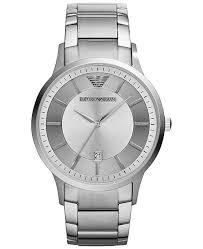 armani steel bracelet images Emporio armani men 39 s stainless steel bracelet watch 43mm ar2478 tif