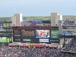 gillette stadium floor plan boston professional sports celtics red sox td garden