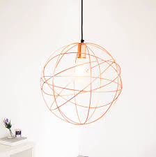 gold pendant light fixtures rose gold copper globe ceiling pendant light chandelier by made with