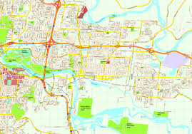 Usa Cities Map by United Illustrator Eps City U0026 Country Maps Part 6
