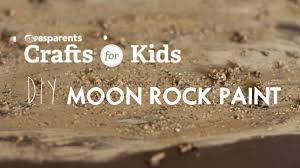 diy moon rocks paint crafts for kids pbs parents youtube