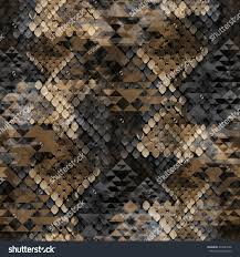 seamless pattern wild design snakeskin background stock