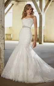 strapless sweetheart fit and flare wedding dresses naf dresses