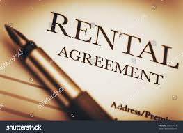rental agreement fountain pen ready sign stock photo 293653613