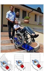 sedie per disabili per scendere scale montascale a cingoli per disabili e portatori di handicap
