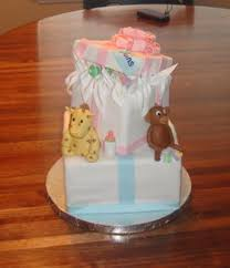 gift box baby shower cakes http www cake decorating corner com