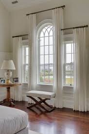 Side Window Curtain Rods Urved Shower Curtain Rod To Make A Window Look Bigger Google